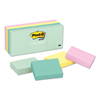 3M Post-it® Original Pads in Marseille Colors MMM 653AST