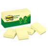 Clean and Green: Post-it® Greener Notes Original Recycled Note Pads