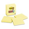 3M Post-it® Notes Super Sticky Pads in Canary Yellow MMM 6545SSCY