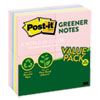 Clean and Green: Post-it® Original Recycled Note Pads
