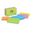 3M Post-it® Original Pads in Jaipur Colors MMM 6555UC