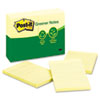 post it: Post-it® Greener Notes Original Recycled Note Pads