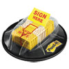 3M Post-it® Flags Arrow Flags in a Desk Grip Dispenser MMM680HVSH