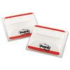 3M Post-It® Durable Filing Tabs MMM 686F50RD