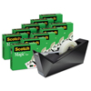 3M Scotch® Magic™ Tape Designer Desktop Dispenser Value Pack MMM 810K10C17MB