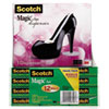 3M Scotch® Magic™ Tape Designer Dispenser Value Packs MMM 810K12C30B