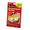 3M Scotch® ScotchPad Label Protection Tape Pads MMM822P