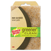 cleaning chemicals, brushes, hand wipers, sponges, squeegees: Scotch-Brite™ Greener Clean™ Non-Scratch Scour Pad