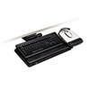 keyboard & mouse drawers & platforms: 3M Easy Adjust Keyboard Tray with Mouse Tray
