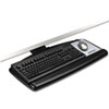 keyboard & mouse drawers & platforms: 3M Positive Locking Keyboard Tray with Standard Platform