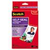 3M Scotch® Self-Sealing Laminating Pouches MMM LS852G