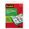 3M Scotch® Self-Sealing Laminating Sheets MMM LS854SS10