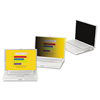privacy screen: 3M Frameless Notebook/Monitor Privacy Filters