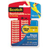 3M Scotch® Restickable Mounting Tabs MMM R103VPC