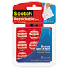 3M Scotch® Restickable Mounting Tabs MMM R105