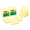 Clean and Green: Post-it® Greener Notes Original Recycled Pop-up Notes