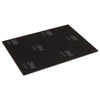 "Floor Care Equipment: Surface Preparation Pad Sheets, 12"" x 18"", Maroon, 10/Carton"