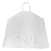workwear aprons: Monarch Brands - White Spun Poly Apron, 33 x 30, White, 1 Dozen