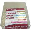 Monarch Brands 8 oz. Drop Cloth, 9 ft. x 12 ft, Medium weight, Standard Room Size MNBDROP-9X12-8