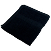 Monarch Brands TRUE Color 16 x 27 Ring Spun 3 LB Hand Towel, 1 Dozen MNB HAND-BLACK