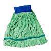 monarch brands: Monarch Brands - Green Microfiber Tube Mop, 18 oz, 1 Dozen