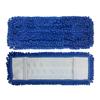 Monarch Brands Blue Mesh Backed Side Pocket Mop, 18, 1 Dozen MNB M880018B-MB