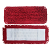 Monarch Brands Red Mesh Backed Side Pocket Mop, 18, 1 Dozen MNB M880018R-MB
