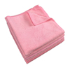cleaning chemicals, brushes, hand wipers, sponges, squeegees: Monarch Brands - Pink Microfiber Cloth, 16 x 16, 49 gram, 1 Dozen