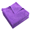 cleaning chemicals, brushes, hand wipers, sponges, squeegees: Monarch Brands - Purple Microfiber Cloth, 16 x 16, 49 gram, 1 Dozen
