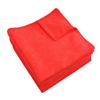 Monarch Brands Red Microfiber Cloth, 16 x 16, 49 gram , 1 Dozen MNB M915100R