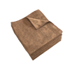 cleaning chemicals, brushes, hand wipers, sponges, squeegees: Monarch Brands - Brown Microfiber Cloth, 16 x 16, 45 gram, 1 Dozen