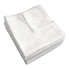 Monarch Brands White 12 x 12 Microfiber Cloth, 30 gram MNB M915112W