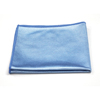 Monarch Brands Blue Shiny Glass Cloth, 16 x 16, 44 gram, 1 Dozen MNB M915160B