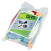 cleaning chemicals, brushes, hand wipers, sponges, squeegees: Monarch Brands - Microfiber Rag Bag, 50/BG