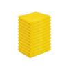 Monarch Brands SilverSure Antimicrobial Microfiber Cloths MNB PNP-M915SLV-YL