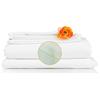 monarch brands: Monarch Brands - Lulworth 200 King Flat Sheet, 1 Dozen