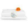 monarch brands: Monarch Brands - Lulworth 200 Full Flat Sheet, 1 Dozen