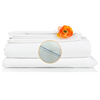 monarch brands: Monarch Brands - Lulworth 200 Queen Flat Sheet, 1 Dozen