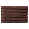 Monarch Brands TRUE Color Ring SpunWash Cloth MNB WASH-BROWN