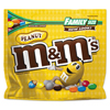 snacks: Milk Chocolate/Candy Coated Peanuts, 19.2oz Pack