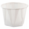 Solo - Solo Souffle Portion Cup 1 oz. White Treated Paper, 250EA/PK 20PK/CS