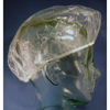 McKesson Shower Cap Medi-Pak® One Size Fits Most Clear, 200PK/BX, 10BX/CS MON 10001710