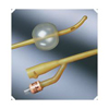 Bard Medical Foley Catheter Bardex Lubricath 2-Way Coude Tip 30 cc Balloon 18 Fr. Hydrophilic Polymer Coated Latex MON10001918