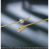 Bard Medical Foley Catheter Bardex Lubricath 2-Way Carson Model 30 cc Balloon 22 Fr. Hydrophilic Polymer Coated Latex MON10001922