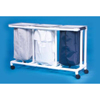 Innovative Products Linen Hamper Select Line Four Casters 39 Gallons MON10037800