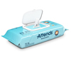 Attends Attends® Personal Wipes, 8 x 11, Soft Pack, Aloe/Vitamin-E Scented, 72 EA/PK, 12 PK/CS MON 10063100