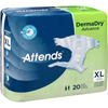 Attends Incontinent Brief Attends Tab Closure Small Disposable Moderate Absorbency (DD10) MON 10153100