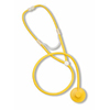Mabis Healthcare Disposable Stethoscope Dispos-A-Scope Yellow 1-Tube 30 Tube Single Sided Chestpiece - Diaphragm Only MON 10472500