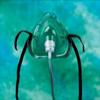 Teleflex Medical Oxygen Mask Nasal / Oral One Size Fits Most Adjustable Nose Clip MON10483900
