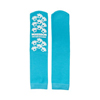 McKesson Slipper Socks Teal Above the Ankle MON 10691200